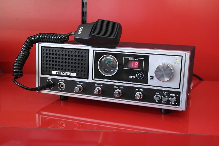 WHAT ABOUT CB RADIOS?