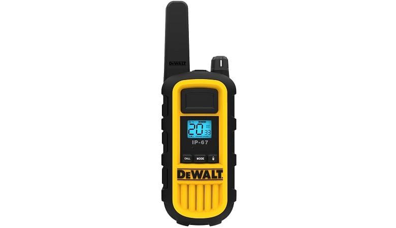 Dewalt Two-Watt Heavy Duty Walkie Talkies