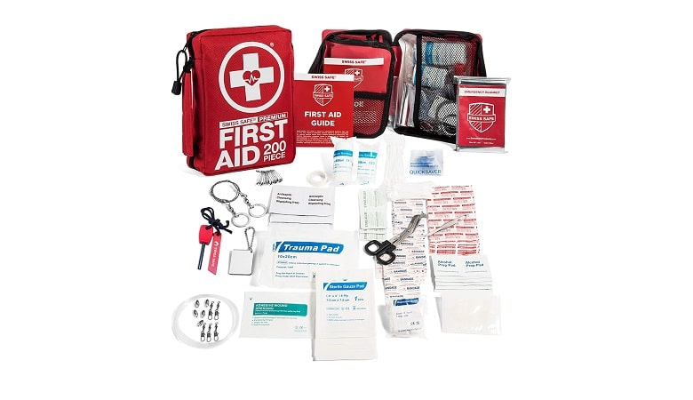 Swiss Safe Professional First Aid Emergency Kit