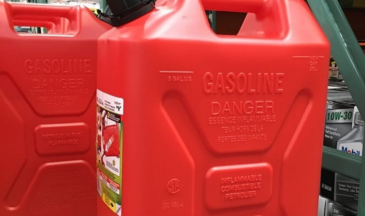 How Much Gasoline Should You Store?