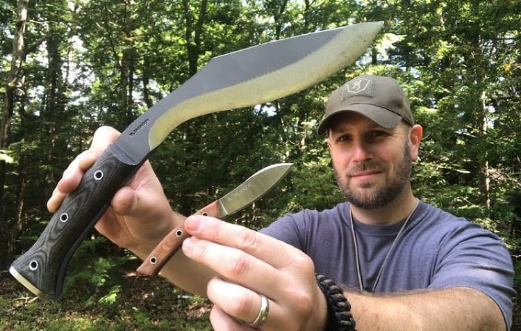 WHAT MAKES IT DIFFERENT FROM SURVIVAL KNIVES?