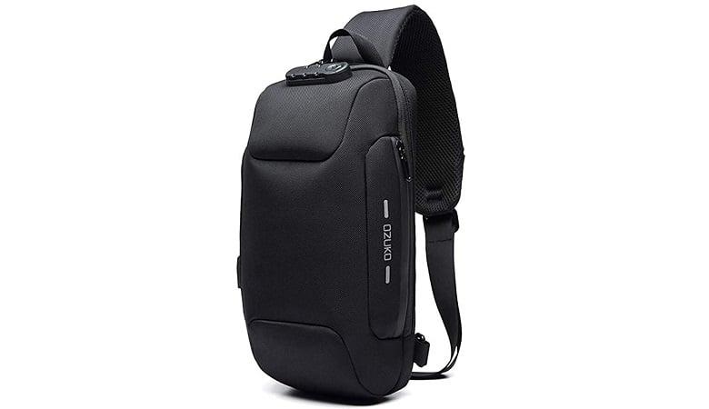 OZUKO Anti-Theft Sling Backpack for Men