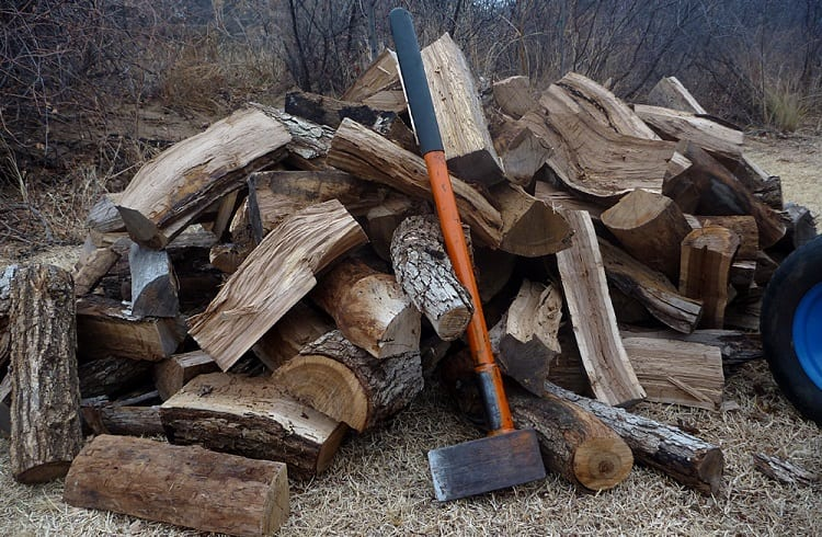 Splitting Firewood is Essential to Water Evaporation