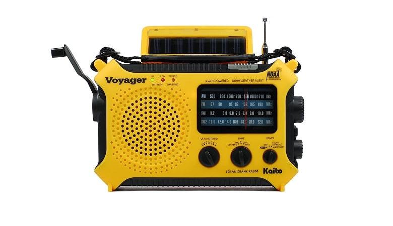 Kaito KA500 Five-Way Weather Alert Radio