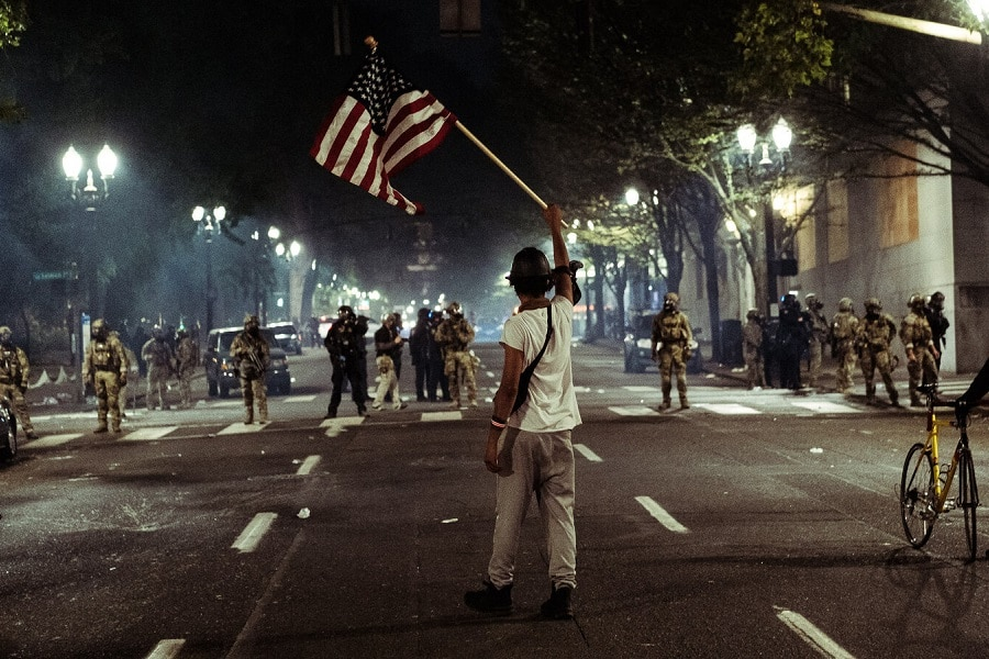 Civil unrest and how to deal in that situation