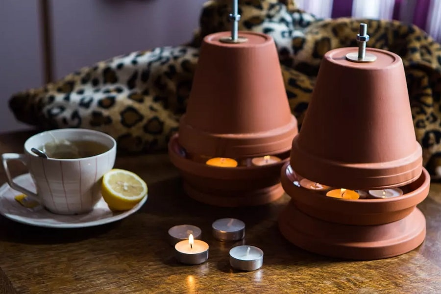 DIY Ceramic Pot Heater
