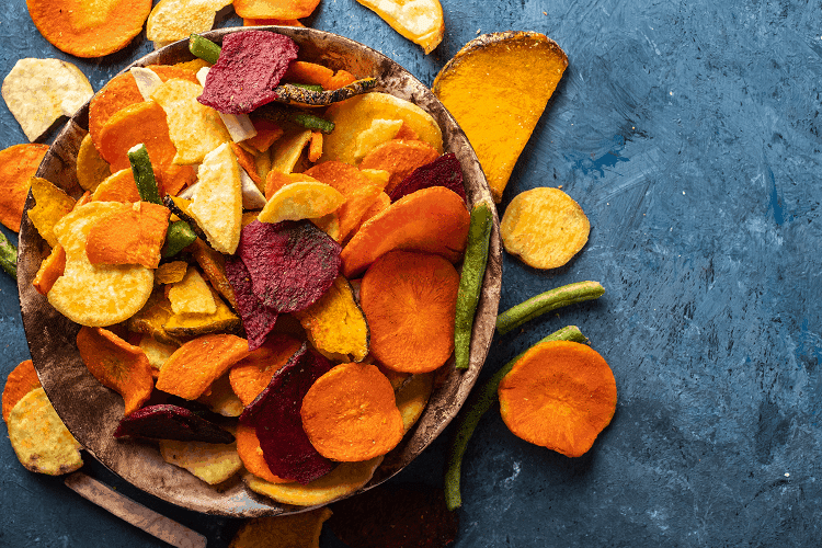 how long can dehydrated vegetables last