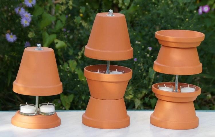 three types of diy pot heaters