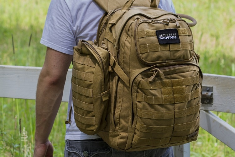 bug out bag for leaving town